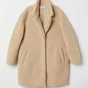 H&M Oversized Sherpa Jacket